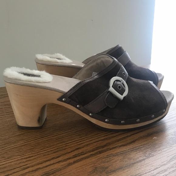 open toe uggs
